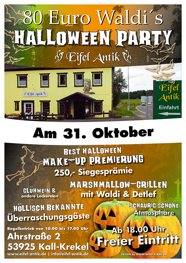 80 Euro Waldi´s Halloween Party